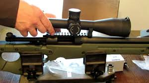 mounting scope rings images Sniper 101 part 57 scope mount and rings installation jpg