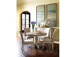 kincaid furniture dining room milford rnd dining table base 75