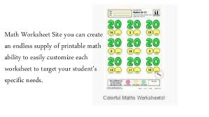 maths worksheets to learn math in a easy way