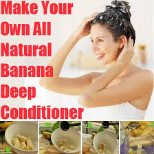 how to make soft hair diy banana hair conditioner
