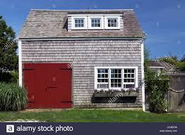 shingle style barn house siasconset village nantucket island cape