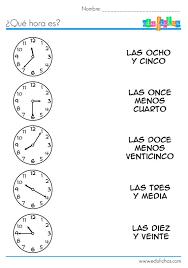 107 best time la hora images on pinterest spanish