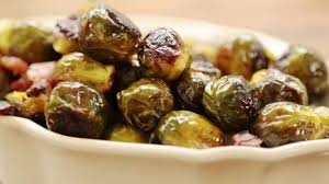thanksgiving bacon thanksgiving recipes how to make maple roasted brussels sprouts