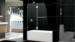 dreamline aqua lux shower door and aqua lux tub door youtube