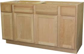 kitchen base cabinets cheap quality one 60 x 34 1 2 sink kitchen base cabinet at menards