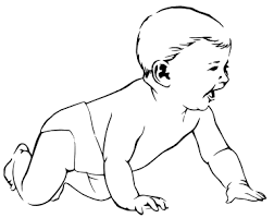 free baby coloring pages clipart clipart picture 4 14