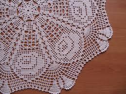 Crochet Table Cloth White Cotton Crochet Tablecloth Also Crochet Tablecloth