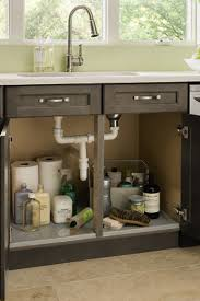 cabinet kitchen sink sink base cabinet with tilt out kitchen craft