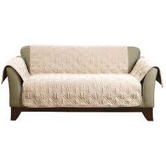 sofa and love seat covers sure fit deluxe waterproof non skid back furniture cover loveseat