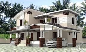 Contemporary Home Plans And Designs Two Storey Contemporary Home Design Pinoy House Plans