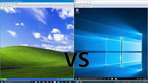 comparing windows 10 to windows xp youtube
