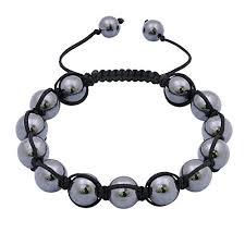 shamballa bracelet images Men 39 s hematite shamballa bracelet bangle bracelets jpg