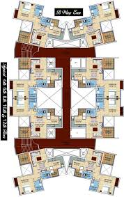 The Seawind Floor Plan by Seawind Shubharambh In Chikhali Pune Price Location Map Floor