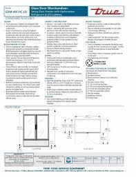 true gdm 49f ld 49 cu ft commercial refrigerator ebay