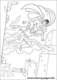 adventures superman coloring trace