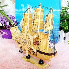 simple wooden sailboat ornaments box presents for