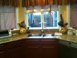 image of small kitchen designs small kitchen windows treatment ideas