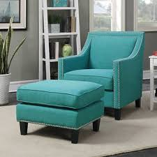 Teal Accent Chair Emery Teal Accent Chair With Ottoman Costco 499 Furniture
