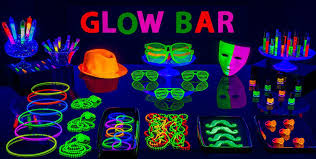 glow in the decorations black light party supplies glow in the party ideas party city