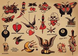traditional nautical sailor tattoos meanings origins u0026 ideas