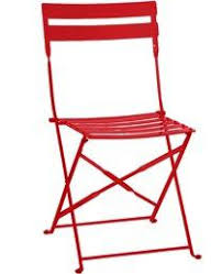 Red Metal Chair Red Metal Folding Chair