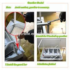 electric remote control loft ladder aluminum folding attic stairs