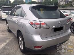 lexus rx350 2010 lexus rx350 2010 3 5 in kuala lumpur automatic suv silver for rm