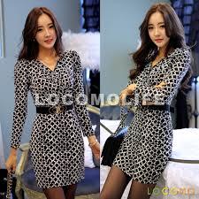 retro black white checkered v neck bodycon office dress l ffd071l