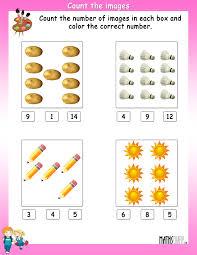 ukg math worksheets page 4
