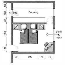 plan chambre où mettre le lit dans la chambre bedrooms master