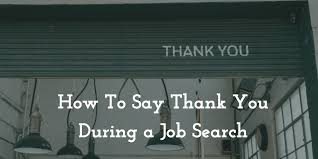 how to say thanks in a search infographic
