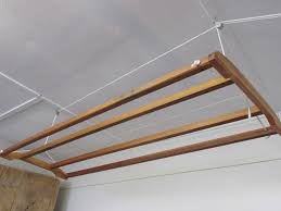 Hanging Clothes Rack From Ceiling Drying Rack For Clothes Bed Bath And Beyond Home Painting Ideas