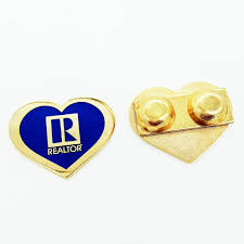 heart shaped items realtor heart shaped glitter pin rts4428