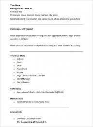 Sample Resume For Tax Preparer 9 Inspiring Accounting Resume Templates Resume Finance And