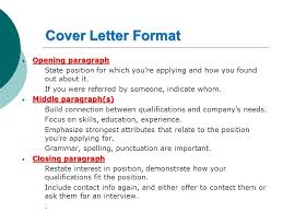 effective cover letter format how to write an effective cover letter sara yousef cpit ppt download