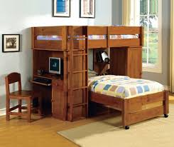 wood loft bunk beds with desk loft bunk beds with desk u2013 modern