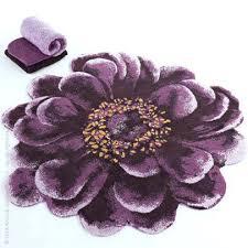 amazing floral bathroom rugs by abyss and is a modern bath rug Modern Bath Rug