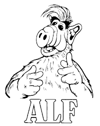coloring pages alf animated images gifs pictures