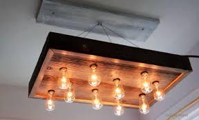 Wood Chandelier Diy Chandelier Made Of Reclaimed Wood