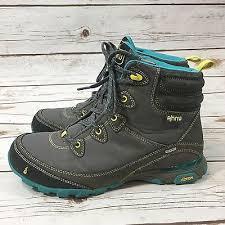 womens size 9 shoe boots ahnu sugarpine womens gray waterproof hiking boots size 9 us