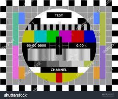 test pattern media test screen media channels stock vector 340690379 shutterstock