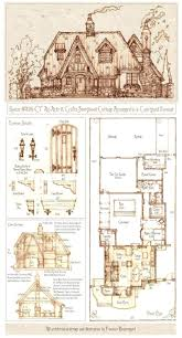storybook cottage house plans home design ideas