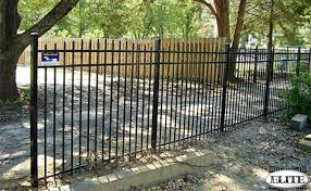 efs 55 elite aluminum fencing fence it