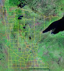 minnesota topographic map minnesota county map mn counties map of minnesota