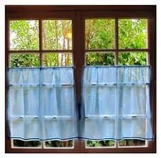 Blue Kitchen Curtains by Blue Kitchen Curtains French Lace Curtains Tier By Hatchedinfrance