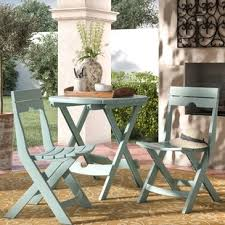 Outdoor Bistro Table Outdoor Bistro Sets You Ll Wayfair