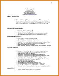 Awards On Resume Example by Community College On Resume Best Resume Collection