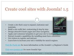 creating a joomla powered website in an hour