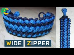 make paracord bracelet with buckle images Wide zipper paracord bracelet without buckle www jpg