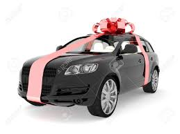 car gift bow expensive gift stock photo picture and royalty free image image
